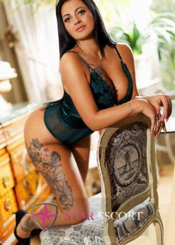 Foto van een vip escort dame