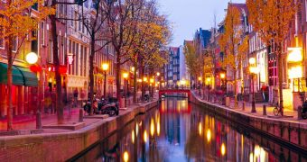 Amsterdam Red Light District Covid